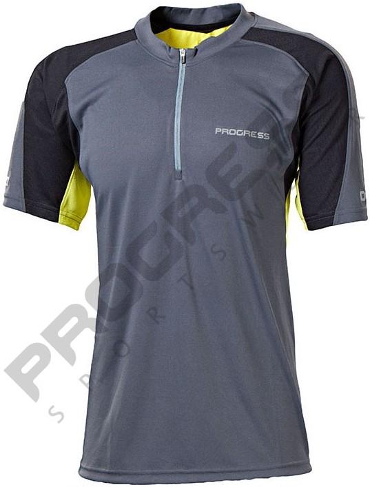 Pánské funkční trekkingové tričko na zip