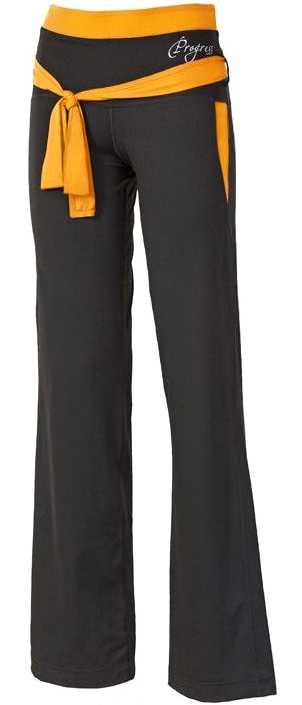 Dámské sportovní kalhoty VIKTORIE Progress èerno oranžové