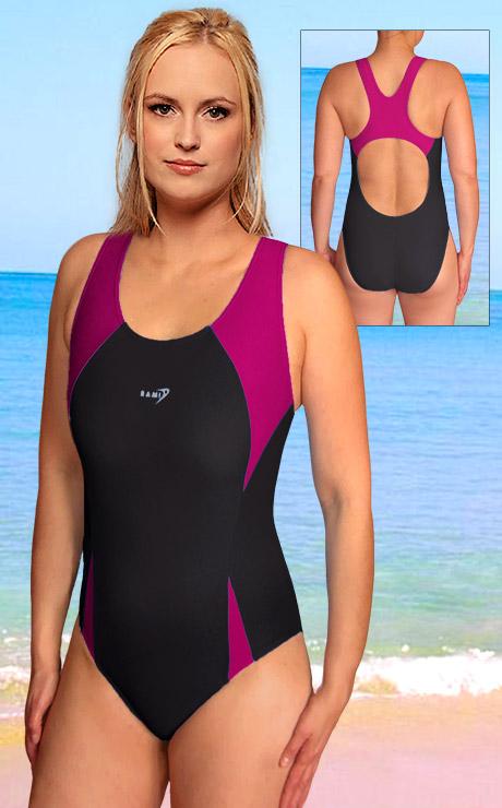 Jednodílné dámské sportovní plavky RAMI P 613