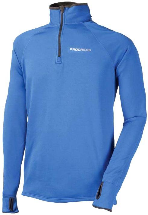 pánský funkèní sportovní pulovr modrý KAMIL Progress